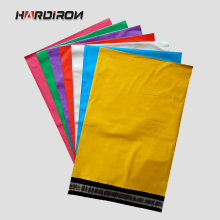 HARD IRON 5 Colors Express Packaging Poly PE Self-adhesive Waterproof Strong Mailing Envelope Pouches Post Bags Factory Outlet(China)