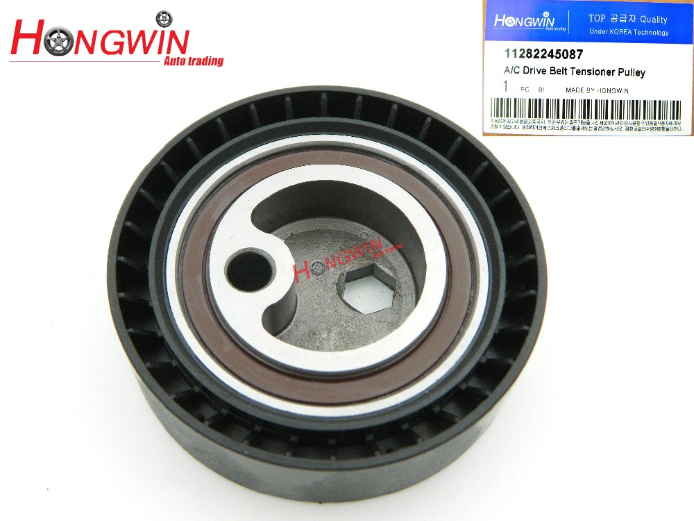 11282245087 A/C Drive Belt Tensioner Pulley Fits BMW 318i 318is 318ti Z3 1992-1998