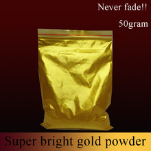 Gold pearl pigment dye ceramic powder paint coating Automotive Coatings art crafts coloring for leather 50g per pack