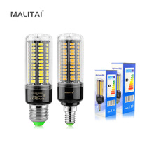 1Pcs SMD 5736 Constant Current Anti-Strobe LED Corn Bulb lamp light E27 E14 3.5W 5W 7W 9W 12W 15W 110V -220V For Indoor lighting(China)