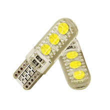 2pcs 12V T10 5050 W5W 6SMD led canbus high power No Error Led Car Interior Bulbs Waterproof Car Lamps