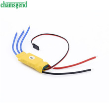 30A Brushless Motor Speed Controller RC BEC ESC T-rex 450 V2 Helicopter Boat  Levert Dropship Sep16