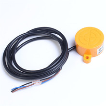 SK-3015A Proximity Switch Sensor NPN Normally Open Approach Sensor DC 6-36V 3-Wire 15mm Detection Distance