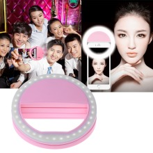 Selfie Portable Flash Led Camera Phone Photography Ring Light Enhancing Photography for iPhone Samsung Smartphone