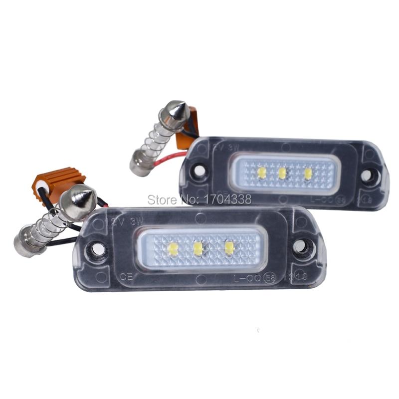 2x 8 SMD LED No Error Parking Light For Mercedes W164 ML350 ML550 ML63 X204 GLK