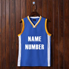 Adsmoney men plain USA team training basketball jerseys male blank sports kits man training uniforms men running vest(China)