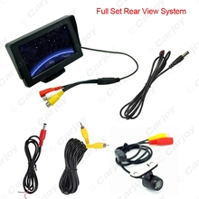 "4.3""inch TFT LCD Stand-alone Monitor With Reversing CCD Mini Camera Car Rear View System Kit 2 in 1 #CA3770"