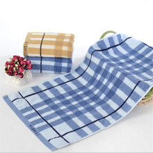 1PC 100% Cotton Adults Luxury Brand High Quality Soft Face Towels Plasi Yarn Dyed Cheap Hand Towel bulk towel toalha TW148(China)