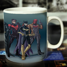 New Batman Ceramic Coffee Mug White Color Or Color Changed Cup Cartoon We Are Superhero---Loveful