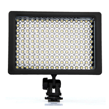 Lightdow LD-160 9,6W Recessed LED Illuminator 160 5400 / 3200K Dimmable for Canon Camera(China)