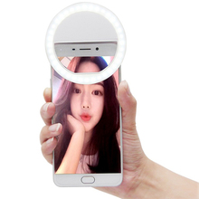 Christmas decor 36 LED Mini Smartphone For iPhone IOS Android Cell Phone Camera Fill lamp Light Portable LED Flash Night Light