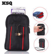 "KSQ Universal Stylish Shoulder Oblique Cross Package Multifunctional 6.3"" Mobile Phone Bag Hanging Neck Wallet Outdoor Phone Bag(China)"