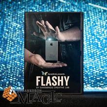 2017 New Flashy (DVD and Gimmick) by SansMinds Creative Lab - DVD close-up card magic trick products / wholesale(China)
