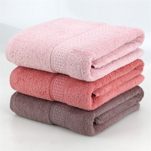 New 135x70cm Big Size Cotton Bath Towels Solid Soft  Rectangle Towel High Quality Plain Dyed Gift Towel Home Textile
