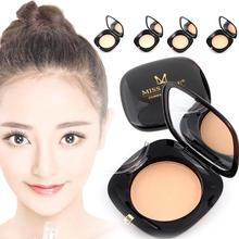 MISS ROSE Brightener Bronzing Powder Makeup Face Contour Palette with Puff Foundation Make Up Wet Dry Pressed Powder Concealer W(China)