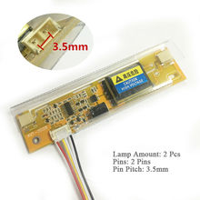 2 Lamp General inverter board Universal high pressure plate inverter dual lamp For LCD Screen/Panel/Monitor 3.5mm Pin Pitch(China)