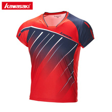 Kawasaki Child Sports T-Shirt Breathable Quick Dry Short Sleeve T Shirts for Girls Boys Badminton Tennis Running Shirt ST-173021(China)