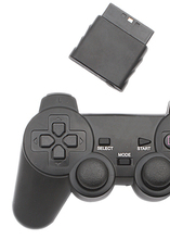 NEW PS2 WIRELESS CONTROLLER JOYSTICK GAMEPAD COMPATIBLE ALL PS2 PS1 CONSOLE WITH VIBRATION MOTOR TWO ANALOG