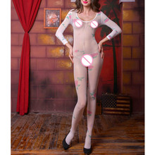 Buy Hot Latex bodystocking Erotic lingerie Sexy lingerie Women's Sexy body suit sexy costumes Fishnet body stocking