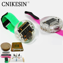 CNIKESIN Diy Watch the clock big microcontroller LED kit time digital tube electronic watch parts diy electronic music suite