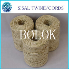 5pcs/lot (total 400m) Twisted sisal twine string (dia.: 1.5mm) 80m/spool used in cat wholesales(China)
