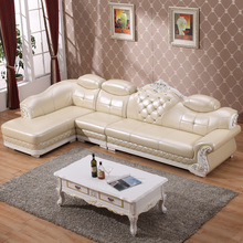 (1 chaise lounge +1 seat+3seat)modern china sofa set for shop #CE-8060B(China)