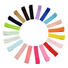 20 Pcs/lot Small Cute Solid Hairclip Whole Wrapped Safety Hair Clips Kids Hairpins Hair Accessory 648