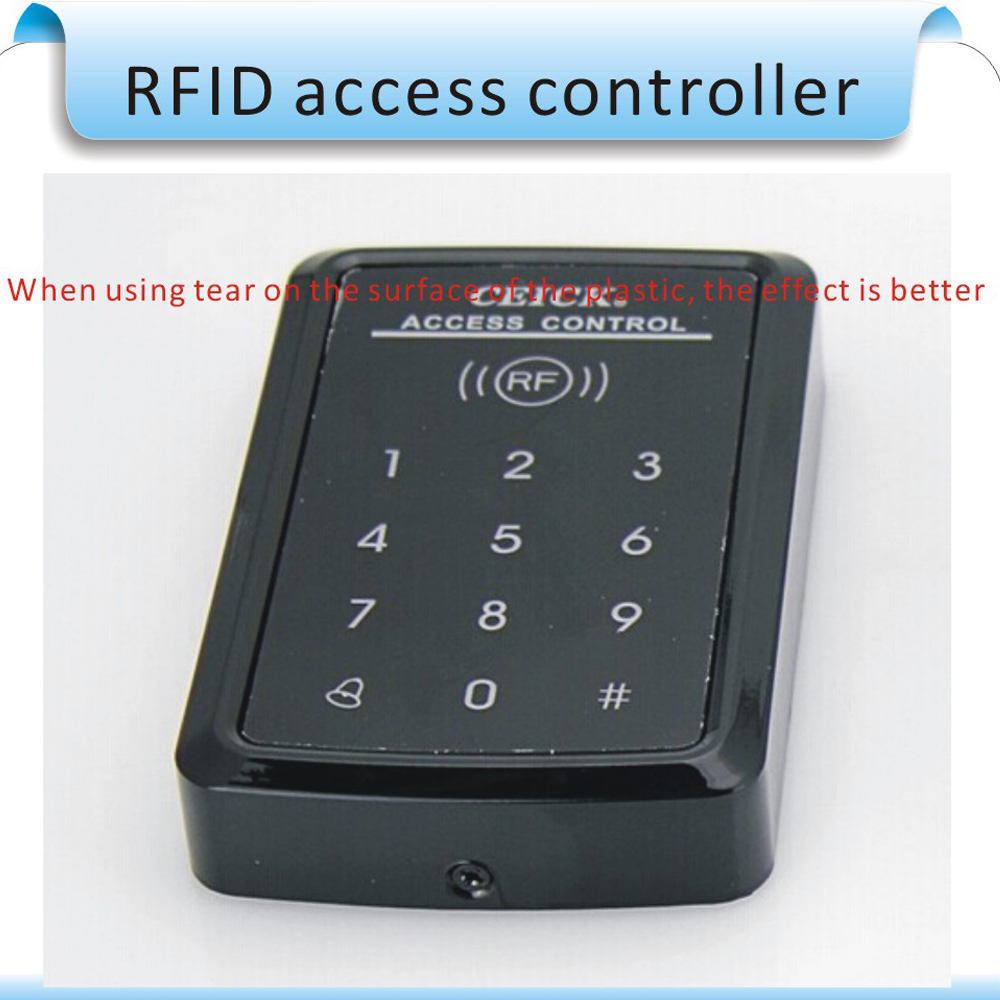 Free shipping access controller RFID 125 KHZ / 13.56 MHZ touch screen Can be an external WG6 card reader<br>