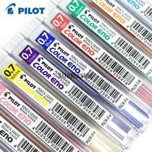 LifeMaster Pilot Color Eno Mechanical Pencil Lead - 0.7 mm 8 tubes/lot Red/Violet/Blue/Light Blue/Green School & Office Supplies