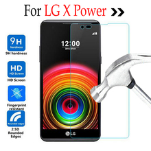 "For LG X Power 5.3""inch Tempered Glass Film For LG X Power XPowerK220 K220DS Case Screen Protector Phone Cover Protective Film"