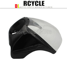 New arrived Wide Glide/Custom Mid Motorcycle Headlight Plastic Front Fairing Kit for Harley FREE SHIPING