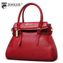big sales! hot ZOOLER woman leather bag type women famous brand  ladies bag Genuine leather shoulder bag Retail tote bag#CJ-1051