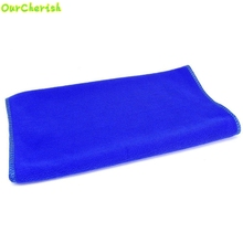 D-2 High Cost-Effective  30*30cm Soft Microfiber Cleaning Towel Car Auto Wash Dry Clean Polish Cloth