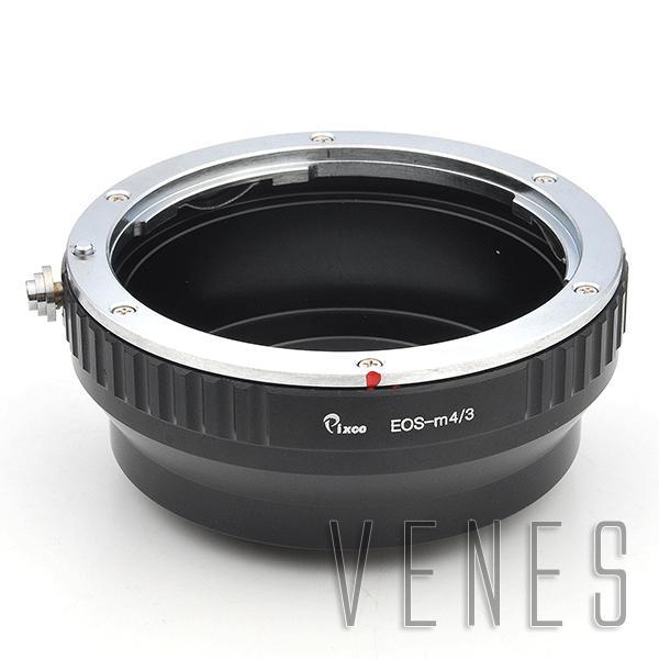 Pixco Lens Adapter suit for Canon EOS EF EF-S Lens to Micro 4/3 M4/3 Mount Camera GF2 GF3 G3 GH2 E-P3 E-PL6 E-P5 E-PL5