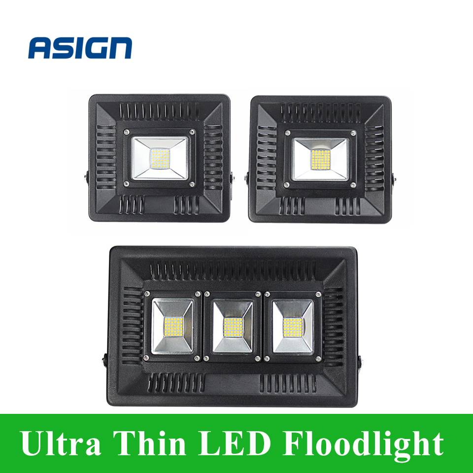 Ultra-long Life 30W 50W 100W LED Ultra Thin Flood Light Warm/Cold White AC200-240V LED Spotlight Reflector 36/42/108LEDs<br><br>Aliexpress