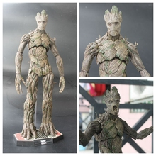 "Hot Toys Guardians of the Galaxy Groot 1/6 Scale PVC Action Figure Collectible Model Toy 15"" 42cm"