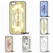 For Motorola Moto E E2 E3 G G2 G3 G4 PLUS X2 Play Style Blackberry Q10 Z10 Hogwarts Train Ticket Harry Potter Inspired Case