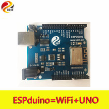 Original DOIT ESPDuino Robot WiFi Controller Compatible with  Arduino UNO R3 Development Board from ESP8266 for Robotic Model