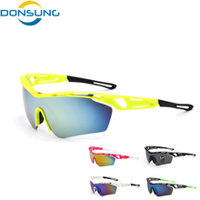Cycling Eyewear Outdoor Sport Sun Glasses UV400 MTB Bike Bicycle Cycling Glasses Bike Sunglasses Windproof Eyewear Ropa Ciclismo