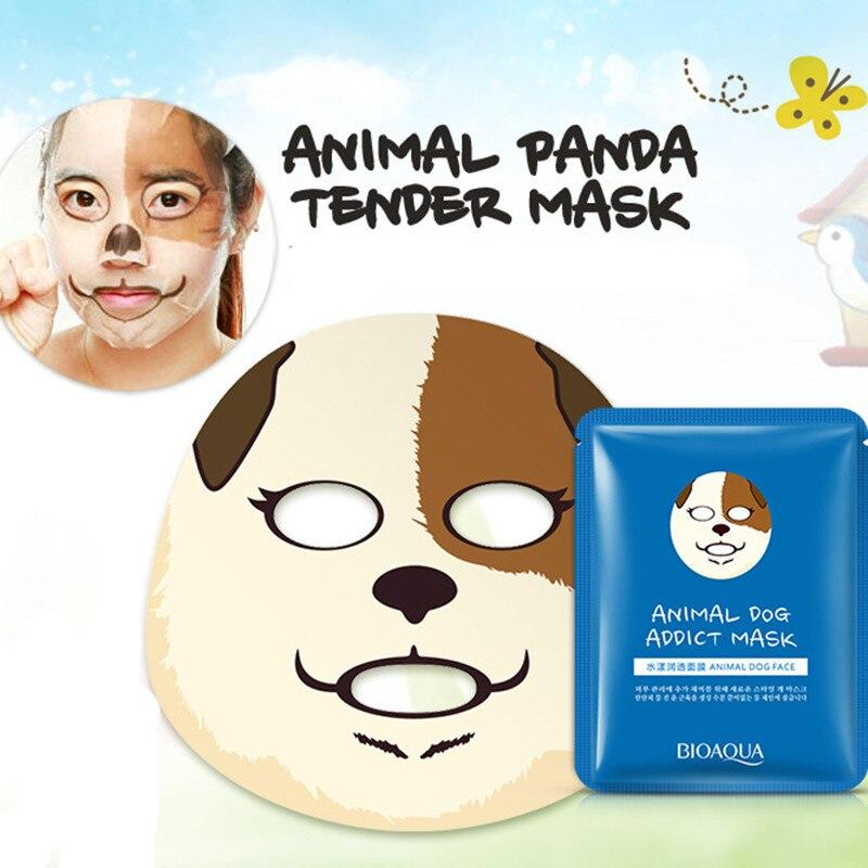 Корейские увлажняющие маски для лица