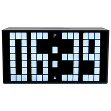 CH KOSDA Digital LED Alarm Clock Mini Small LED Clock Table Wall Clock Bedroom Living Room Thermometer Snooze Date Calendar New