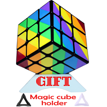 Holder as Gift 3*3*3 Magic Cube Asymmetrical Cubo Puzzle Square 2017 New Colorful Game Cube 3x3x3