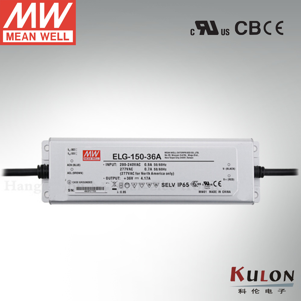 Original Meanwell Power Supply ELG-150-54B 150W 54V IP67 dimming mean well LED driver<br>