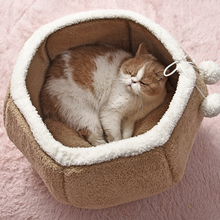 Hot sale Cats and Dogs House For Cats Chinchilla Cage Ferret Kitten Nest Rat Cage Cat Bed Cute Puppy Kennel Pet Supplies(China)