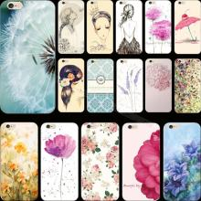 4/4S Newest Arrival Flower Design Hard Cover Case For Apple iPhone 4 4S iPhone4S Cases Phone Shell Top Fashion Newest Arrival !!
