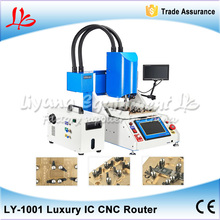 luxury pack LY 1001 Automatic iphone IC CNC Router, CNC Milling Machine for iPhone Chips Repair