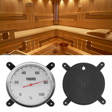 Practical Sauna Room Hygrometer Humidity Measuring Meter Gauge Bracket Wall Hanging For Bath Bathhouse And Sauna Laboratory Use(China)