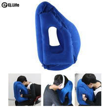 Travel Inflatable Pillows Air Soft Cushion Travel Sleep Almofadas Innovative Products Neck Rest Body Back Support Pillow
