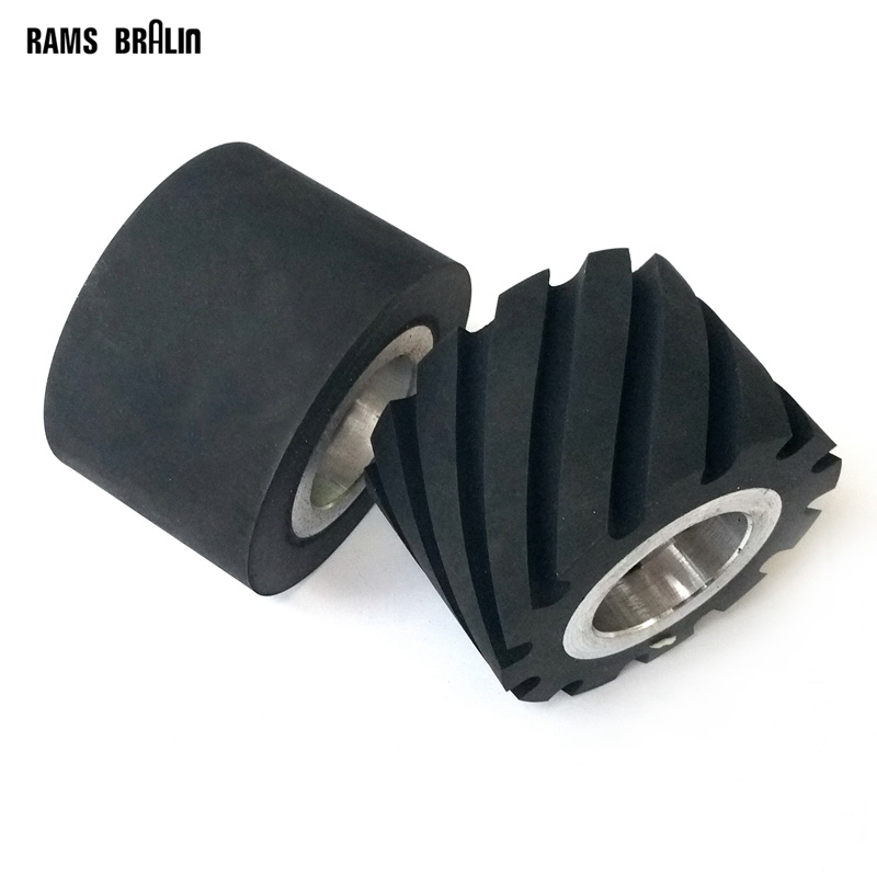 1 piece 75*50mm  Rubber Contact Wheel Belt Grinder Part with Hole for 6202 bearings or 25mm ID<br>