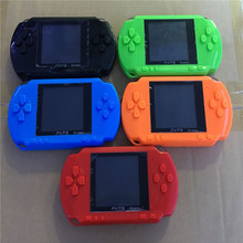 10pcs Hot Sale 2017 16 Bit Handheld Game Players Console 2.7 Inch Portable Video Game Retro Megadrive PXP3 + Game Card